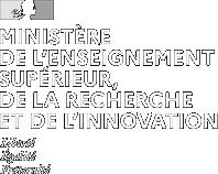 logo ministère de l'enseignement supérieur de la recherche de l'innovation